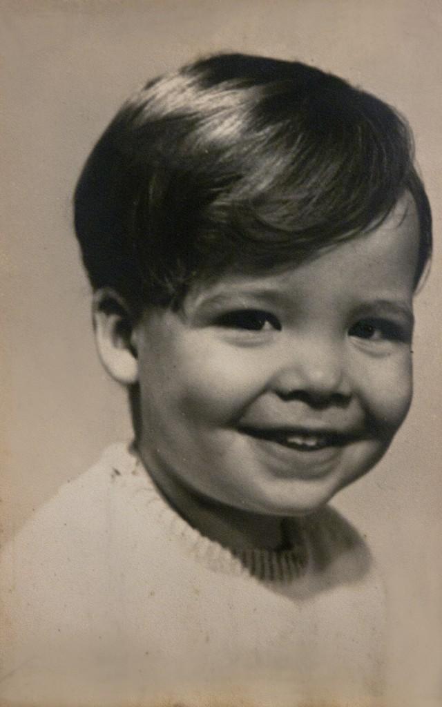 Papai Gay na infância.